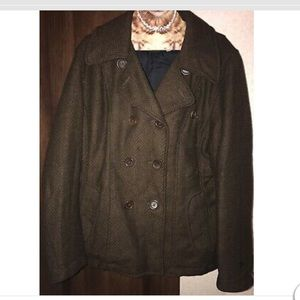 Spiewak & Sons Military Peacoat XL Wool EUC